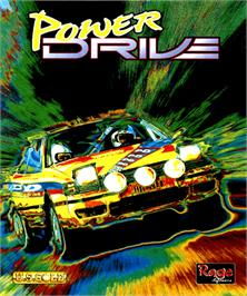 Box cover for Power Drive on the Commodore Amiga.