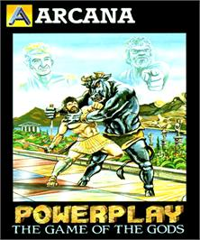 Box cover for Powerplay: The Game of the Gods on the Commodore Amiga.