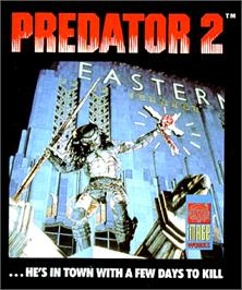 Box cover for Predator 2 on the Commodore Amiga.