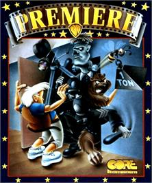 Box cover for Premiere on the Commodore Amiga.