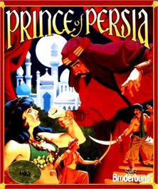 Box cover for Prince of Persia on the Commodore Amiga.