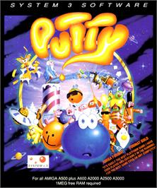 Box cover for Putty on the Commodore Amiga.
