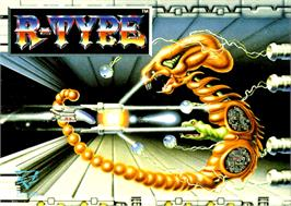 Box cover for R-Type on the Commodore Amiga.