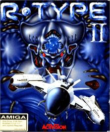 Box cover for R-Type II on the Commodore Amiga.