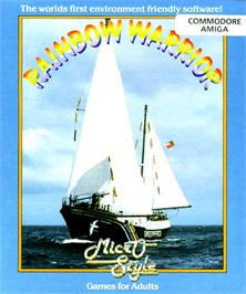 Box cover for Rainbow Warrior on the Commodore Amiga.