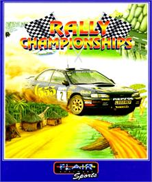 Box cover for Rally Championships on the Commodore Amiga.