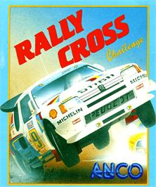 Box cover for Rally Cross Challenge on the Commodore Amiga.