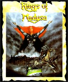 Box cover for Rings of Medusa on the Commodore Amiga.