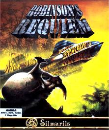 Box cover for Robinson's Requiem on the Commodore Amiga.