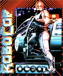 Box cover for Robocop on the Commodore Amiga.