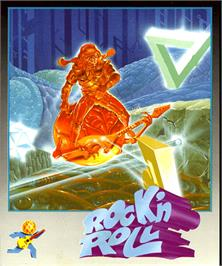 Box cover for Rock 'n Roll on the Commodore Amiga.