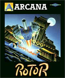 Box cover for Rotor on the Commodore Amiga.
