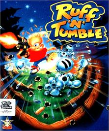 Box cover for Ruff 'n' Tumble on the Commodore Amiga.