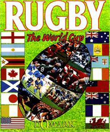 Box cover for Rugby: The World Cup on the Commodore Amiga.