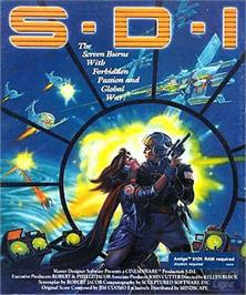 Box cover for S.D.I. on the Commodore Amiga.