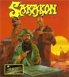 Box cover for Sarakon on the Commodore Amiga.