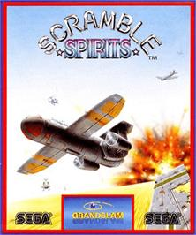 Box cover for Scramble Spirits on the Commodore Amiga.
