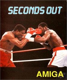 Box cover for Seconds Out on the Commodore Amiga.