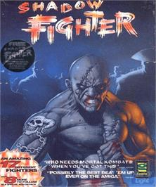 Box cover for Shadow Fighter on the Commodore Amiga.