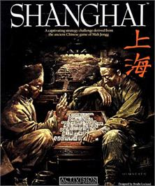 Box cover for Shanghai on the Commodore Amiga.
