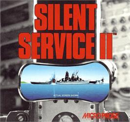 Box cover for Silent Service 2 on the Commodore Amiga.
