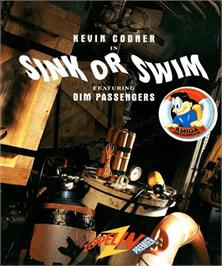 Box cover for Sink or Swim on the Commodore Amiga.