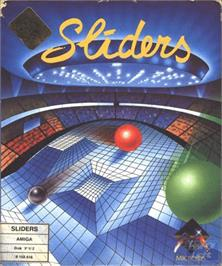 Box cover for Sliders on the Commodore Amiga.