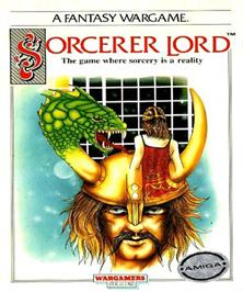 Box cover for Sorcerer Lord on the Commodore Amiga.