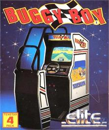 Box cover for Speed Buggy on the Commodore Amiga.