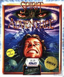 Box cover for Spirit of Adventure on the Commodore Amiga.