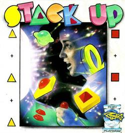 Box cover for Stack Up on the Commodore Amiga.