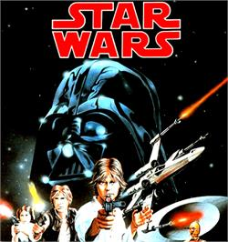 Box cover for Star Wars: The Empire Strikes Back on the Commodore Amiga.