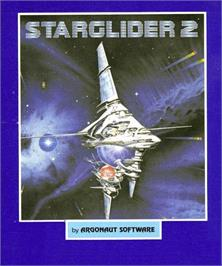 Box cover for Starglider 2 on the Commodore Amiga.