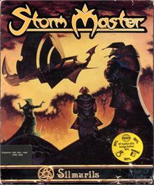 Box cover for Storm Master on the Commodore Amiga.