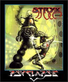 Box cover for Stryx on the Commodore Amiga.