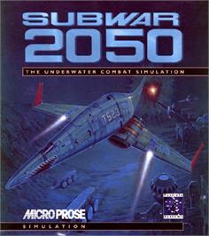Box cover for Subwar 2050 on the Commodore Amiga.