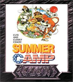 Box cover for Summer Camp on the Commodore Amiga.