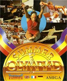 Box cover for Summer Challenge on the Commodore Amiga.
