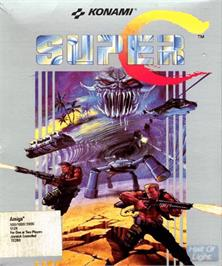 Box cover for Super C on the Commodore Amiga.