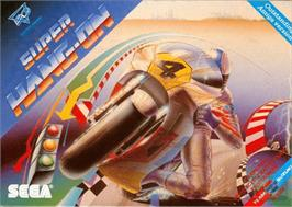 Box cover for Super Hang-On on the Commodore Amiga.