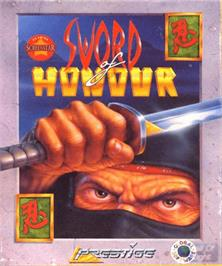 Box cover for Sword of Honour on the Commodore Amiga.