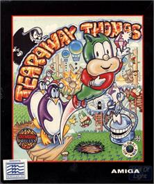 Box cover for Tearaway Thomas on the Commodore Amiga.