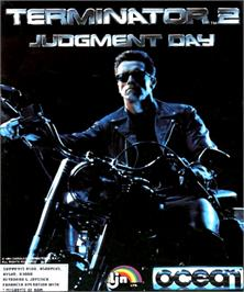 Box cover for Terminator 2 - Judgment Day on the Commodore Amiga.