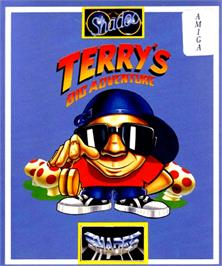 Box cover for Terry's Big Adventure on the Commodore Amiga.