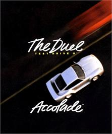 Box cover for Test Drive II: The Collection on the Commodore Amiga.