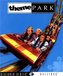 Box cover for Theme Park on the Commodore Amiga.