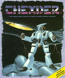 Box cover for Thexder on the Commodore Amiga.