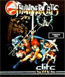 Box cover for Thundercats on the Commodore Amiga.