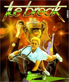 Box cover for Tie Break on the Commodore Amiga.