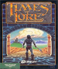 Box cover for Times of Lore on the Commodore Amiga.